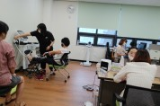 옹진군보건소, '모바일 헬스케어사업 프로그램' 진행